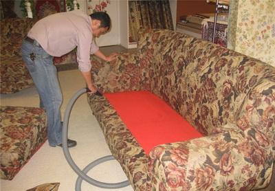 布艺沙发清洗消毒方法
